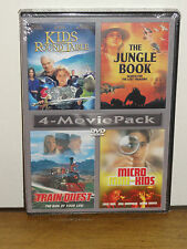 Kids Of The Round Table, Train Quest, Micro Mini-Kids, The Jungle Book (2-DVDS)