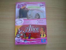 coffret 2 cd-rom mes secret de beaute + alice au pays d