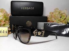 VersaceMOD. 4322 Rock Icons Cat Eye Havana/Gold Frame 55 17 140 Sunglasses**NIB