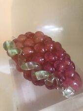 Vintage Murano Bunch Of Grapes