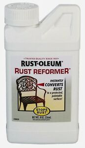 New Rust-Oleum 8 oz. Rust Reformer Converts Rust to Protected Paintable Surface