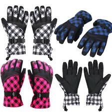 Kinder Handschuhe Skihandschuhe Snowboard Winter Thermo Warm Fahrradhandschuhe D
