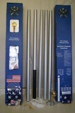 20 Foot Sectional Aluminum Flagpole Flag Pole Kit 20'
