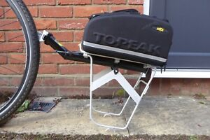 Topeak MTX BeamRack and MTX Track Bag with Panniers