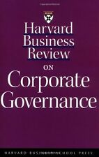 Harvard Business Review on Corporate Governance (H