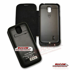Für Samsung Galaxy S4 Emergency Charger Backup Case Battery Flip Tasche 3200mAh