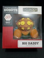 Bioshock Big Daddy Vinyl Figure 005 Knit Series Handmade By Robots Loot Crate