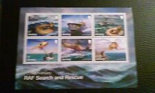 jersey stamps--RAF Search and Rescue Mini Sheet