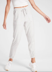 ATHLETA FARALLON JOGGER PANT BIRCH GREY NWT SZ 0, 2, 6, 8 $98 NWOT SOFT!