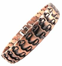 MENS BIO MAGNETIC COPPER HEALING BRACELET FOR ARTHRITIS PAIN RELIEF RHEUMATISM