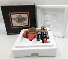 Harley-Davidson 1933 Orange Motorcycle & Side Car Coin Bank 1:12 Scale 99199-93V