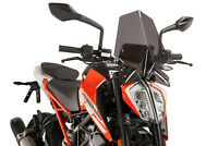 PUIG NAKED N.G. SPORT SCREEN KTM 390 DUKE 17-18 DARK SMOKE