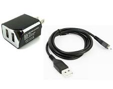 2A Wall Charger+USB Cable Cord for ATT Nokia 6350 Snapper, Mural 6750, Asha 300