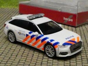 1/87 Herpa Audi A6 Avant Politie NL altes Design 941938
