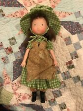 Vintage Holly Hobbie Friend AMY 1974 Vinyl Doll Knickerbocker