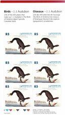 CANADA 2005 BIRD PAINTINGS BY JOHN AUDUBON $5.10 BOOKLET SB320 MINT CONDITION