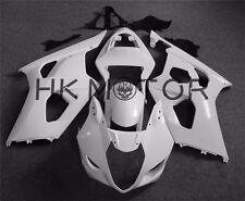Unpainted Pre-drilled Fairing Kit Bodywork for Suzuki GSXR1000 2003 2004 K3 Set