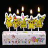 POKEMON PIKACHU Birthday Cake Candle Candles Topper Party Decor Supplies