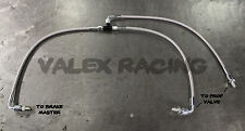 Stainless Steel Brake Boost Delete Lines (with aftermarket master) Honda Acura