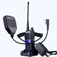 BAOFENG UV-82 VHF UHF Dual Band 136-174/400-520MHz 2-PTT 5W Two Way Radio +Mic
