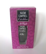 Naomi Campbell  Cat deluxe  at Night  15 ml Eau de Toilette  in OVP