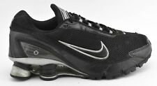 MENS NIKE SHOX TURBO + IV 2006 RUNNING SHOES SIZE 7 BLACK SILVER GRAY 315378 001