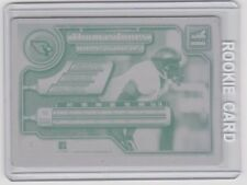 THOMAS JONES ROOKIE 1/1 AZ CARDINALS 2000 PACIFIC AURORA Printing Press Plate RC