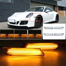 For Porsche 911 987 997 Boxster CAYMAN Led Side Marker Blinker Signal light SET