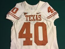 UT University of Texas Longhorns Game Worn NIKE Jersey #40 Size 48