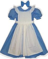 """Alice"" Custom Fit Cotton Adult LG Baby Sissy Dress & Hairbow LEANNE"
