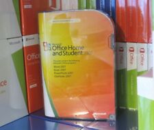 MICROSOFT OFFICE 2007 HOME AND STUDENT (USED) 3-USER DVD [79G-00007] GENUINE UK