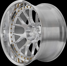 BC RACING 20 INCH WHEELS 2PIECE TO SUIT PORSCHE 993, 996, 997 WIDEBODY ONLY