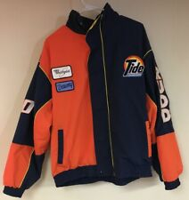 Ricky Rudd #10 Tide Racing Team Jacket Whirlpool Downy XL Preowned