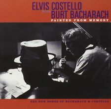 Elvis Costello with Burt Bacharach  /   Painted from Memory  (CD)   New!