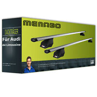 Für Audi A4 Avant 8K//B8 Dachträger Menabo Tiger /& Dachbox Krono 400 Querträger