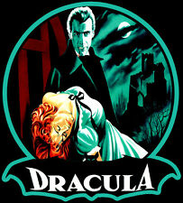 50's Christopher Lee Classic Horror of Dracula Poster Art custom tee Any Size