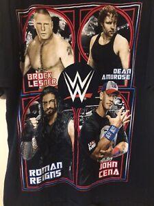 G29 Brock Lesnar Dean Ambrose John Cena Roman Reigns Wrestling Youth XXL 18 Blk