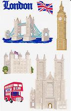 Mrs. Grossman's Giant Stickers - London - Landmark - Paper Whisper - 2 Strips