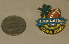 2005 University of Iowa Hawkeyes Football Capital One Bowl lapel pin tie tack
