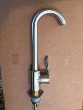 Hansgrohe Solaris high-arc bar faucet, satin nickel