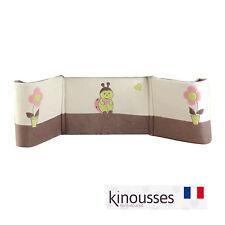 Les Kinousses Luxury Baby CotBed Bumper 40*190cm - Beige