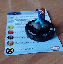 Heroclix Wolverine and the X-Men #204 SHADOWCAT  Gravity Feed Marvel