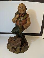 Thistle-R 1984~Tom Clark Gnome~Cairn Studio Item #1029~Ed #67 Signed In Marker!