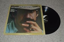 Jim Croce - Time In A Bottle Greatest Love Songs Vinyl LP (JZ 35000) 1976 Record
