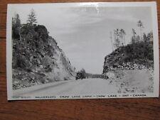 Halverson's Crow Lake Camp - Crow Lake - Ont. Canada postcard