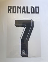 Cristiano Ronaldo # 7 SPORTING ID Real Madrid UCL 2015-16 Authentic Name&Number