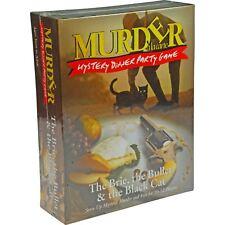 Paul Lamond Brie, Bullet & The Black Cat Murder Mystery Dinner Party Game