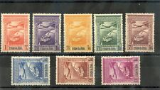 PORTUGUESE INDIA Sc C1-8(SG 534-41)**VF NH 1938 VASCO DA GAMMA AIR SET $120