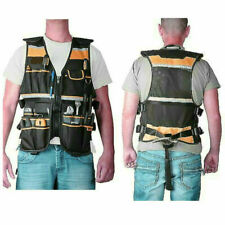 Electrician Carpenter Pouch Bag Tool Vest Framer Plumber Craftman Construction