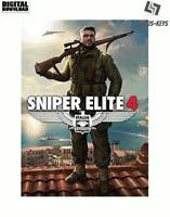 Sniper Elite 4 Steam Download Key Digital Code [DE] [EU] PC